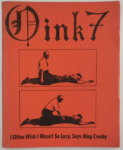 Chicago: Oink Press, 1973. First edition. Paperback. Very Good. Wide 8vo. A very good copy in illust...