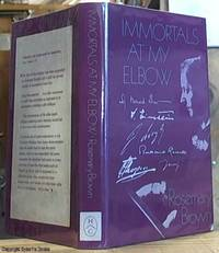image of Immortals At My Elbow