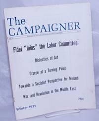 image of The Campaigner. 1971, Winter Vol. 4, #1 Publication of the National Caucus of Labor Committees