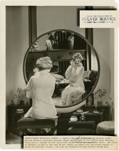 Los Angeles: First National Pictures, 1929. Two vintage photographs from the 1929 film. Based on the...