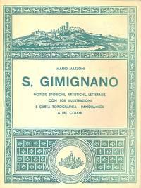 S. Gimignano by MAZZONI Mario - First Edition - 1956 - from Studio Bibliografico Marini (SKU: 22515)