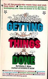 A Guide to Getting Things Done / Ross A. by Bliss Edwin C  - Paperback  - from World of Books Ltd (SKU: GOR011238904)