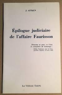 Épilogue judiciaire de l' affaire Faurisson
