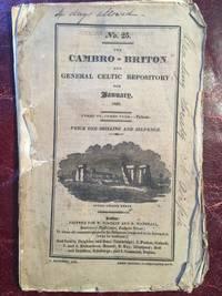 The Cambro-Briton And General Celtic Repository For January, 1822  ORIGINAL1822 PUBLICATION No.25...