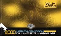 image of 2000 Harley-Davidson Owner's Manual: XLH Models, PN: 99468-00
