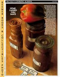 McCall's Cooking School Recipe Card: Sauces 9 - Mother's Chili Sauce  (Replacement McCall's Recipage or Recipe Card For 3-Ring Binders):  McCall's Cooking School Cookbook Series by  Lucy (Editors)  Marianne / Wing - Paperback - First Edition: First Printing - 1986 - from KEENER BOOKS (Member IOBA) (SKU: 009451)