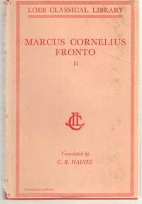Marcus Cornelius Fronto Correspondence, II (Volume II) by Fronto - Hardcover - 1920 - from Dan Glaeser Books (SKU: 35152)