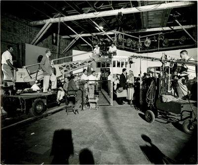 Culver City, CA: Columbia Pictures, 1949. Vintage studio still photograph of director Douglas Sirk w...