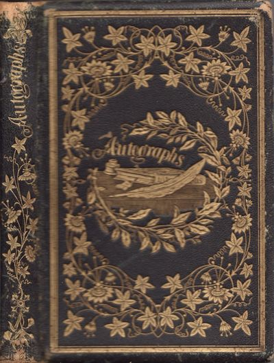 Kentucky, Massachusetts, 1861. Octavo. Black leather binding with gilt tooled floral decorations, il...