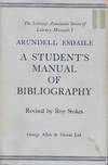 Student's Manual Of Bibliography