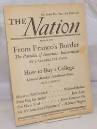 image of The Nation: America's Leading Liberal Weekly Since 1865; Vol. 173, No. 14, Saturday, October 6 1951