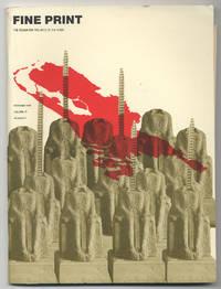 image of Fine Print: Volume 15, Number 4, October, 1989