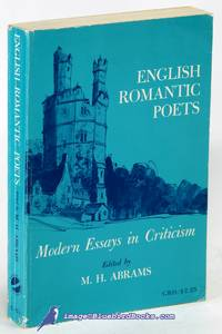 English Romantic Poets: Modern Essays in Criticism
