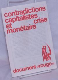 image of Contradictions capitalistes et crise monétaire, document