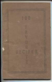 100 Favorite Recipes, Suquamish Orthopedic Auxillary