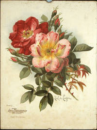 Greetings Lee's Pharmacy Alaska Building Seattle, Wash Expert Prescriptionists. [Chromolithograph of two roses].