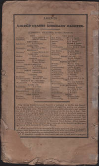 image of United States Literary Gazette. Vol. III, No. 12, including the Literary Advertiser, The.