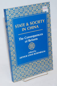 image of State and Society in China; The Consequences of Reform
