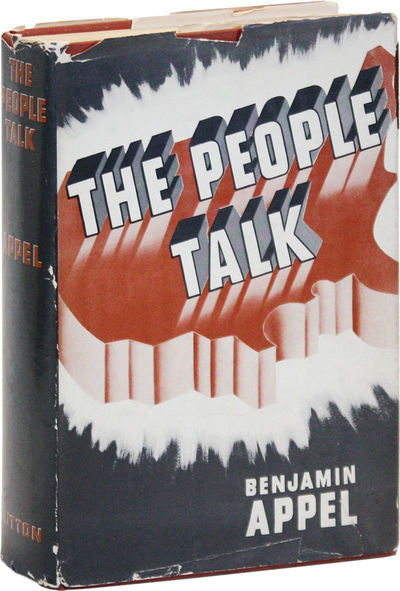 New York: E.P. Dutton & Company, 1940. First Edition. Hardcover. Reprint of Appel's fourth book, a n...