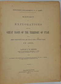 image of Report of Explorations Across the Great Basin of the Territory of Utah For a Direct Wagon-Route from Camp Floyd to Genoa, in Carson Valley, in 1859