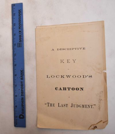 : , 1854. Pamphlet. VG (corners bumped and small tears, overall age toning to pages, soiling on fron...