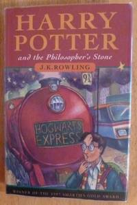 collectible copy of Harry Potter and the Philosopher's Stone