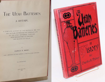 Salt Lake City: Self-published by the author at The Daily Reporter, 1900. Hardcover. 130p., preface,...