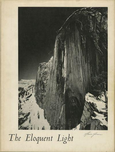 San Francisco: Sierra Club, 1963. First edition. Adams, Ansel. Folio, 175 pp., b&w plates. Gilt-embo...