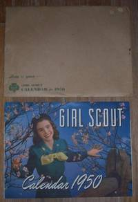 GIRL SCOUT 1950 CALENDAR by Girl Scouts Of The U S A - 1950 - from Gibson's Books and Biblio.com