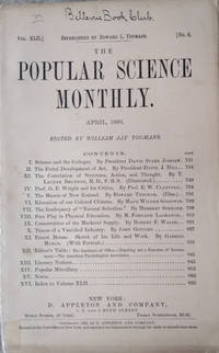 The Popular Science Monthly, Vol. XLII, No. 6, April,1893)