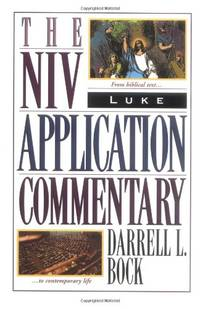 image of Luke: The NIV Application Commentary from Biblical Text to Contemporary Life