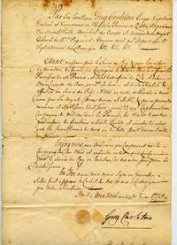 Important 1775 commission manuscript letter for Militia defense of Montreal signed by Sir Guy Carleton