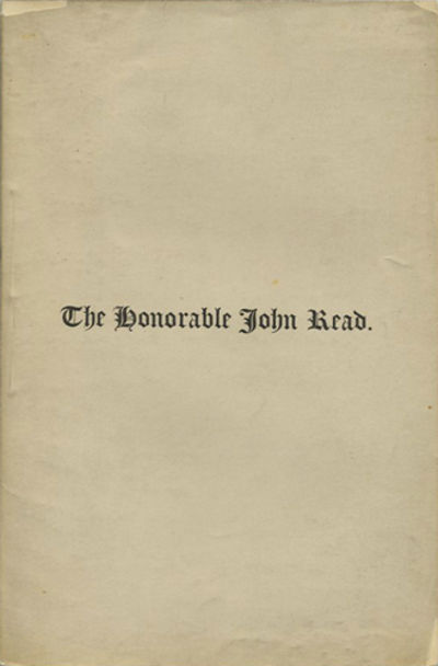 Boston: Privately printed, 1879. First edition. Stitched paper wrappers. A very good copy.. 18, iv p...