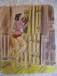 image of Risque, One Panel Gag, ORIGINAL CARTOON ART