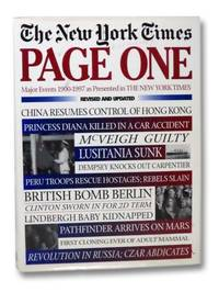Page One: Major Events 1900-1997 - As Presented in the New York Times