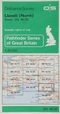 Pathfinder map sheet 1106: Llanelli (North)