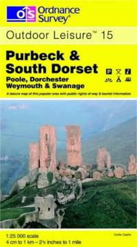 Purbeck and South Dorset (Outdoor Leisure Maps) by Ordnance Survey