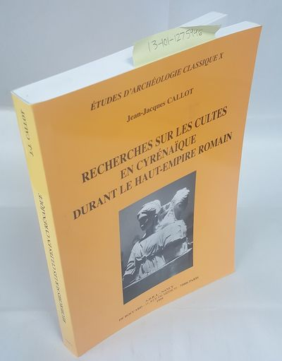 Paris: ADRA Nancy / De Boccard, 1999. Text in French; Quarto; VG/no-DJ paperback; Yellow spine with ...