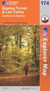 image of Epping Forest and Lee Valley (OS Explorer Map Series) (OS Explorer Map Active)