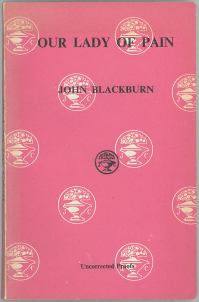 London: Jonathan Cape, 1974. Octavo, decorated white wrappers printed in pink and black. Advance cop...