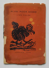 Alas! Poor Dodo! by Lise Fulda; illustrated with linoleum cuts by the author