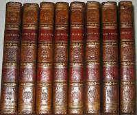 THE SPECTATOR. Printed in 1819. Leather set. Complete in 8 volumes