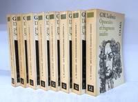 Die philosophischen Schriften 1-7 + Opuscules et fragments inédits