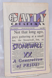 image of The Gayly Oklahoman: Statewide Gay Voice; vol. 7, #6, June, 1989: Stonewall XX; a generation of Pride!