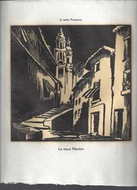 image of La Bell Provence: 26 Gravure au canif par Tilmans, 1947 Limited Edition Signed in case by Gap, Ophrys