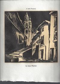 La Bell Provence: 26 Gravure au canif par Tilmans