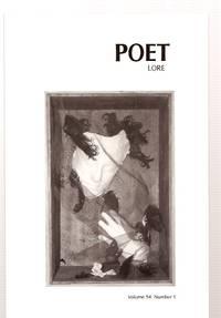 image of POET LORE VOLUME 94 NUMBER 1 SPRING 1999