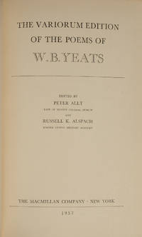 Variorum Edition of the Poems of W.B. Yeats, The