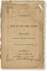 image of The Duty of the Free States, or Remarks Suggested by the Case of the Creole