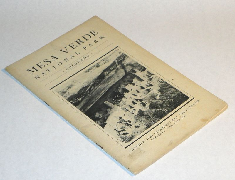Mesa Verde National Park By United States Department Of The Interior Paperback 1934 From
